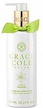 Profumi e cosmetici Lozione mani - Grace Cole Lily & Verbena Hand Lotion