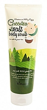 Profumi e cosmetici Scrub corpo con estratto di tè verde - Elizavecca Body Care Milky Piggy Greentea Salt Body Scrub