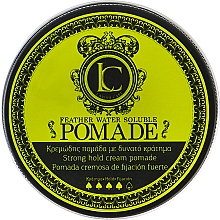 Profumi e cosmetici Pomata per capelli a tenuta forte, da uomo - Lavish Care Feather Water Soluble Pomade Strong Hold
