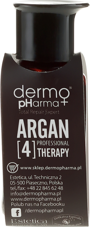 Siero multi-attivo per mani, unghie e capelli - Dermo Pharma Argan Professional 4 Therapy Multiactive Serum Hair Body Nail Argan