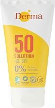 Profumi e cosmetici Lozione solare - Derma Sun Lotion SPF50