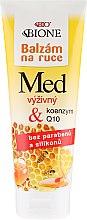 Profumi e cosmetici Balsamo mani nutriente - Bione Cosmetics Honey + Q10 Cream