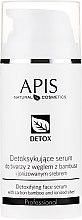 Profumi e cosmetici Siero-detox per la pelle grassa e mista - APIS Professional Detox Detoxifying Face Serum With Carbon Bamboo And Ionized Silver