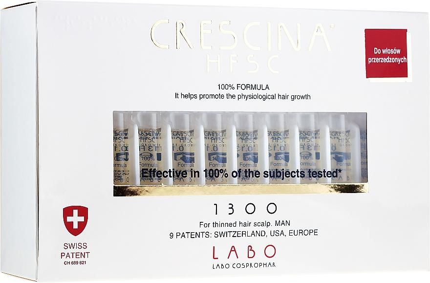 Lozione concentrata per la crescita dei capelli, per uomo - Labo Crescina HFSC Re-Growth 1300