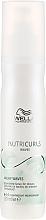 Profumi e cosmetici Spray-latte indelebile nutriente per capelli ricci - Wella Professionals Nutricurls Milky Waves Leave In Spray