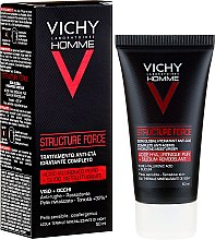Profumi e cosmetici Fluido viso - Vichy Homme Structure Force Complete Anti-ageing Hydrating Moisturiser