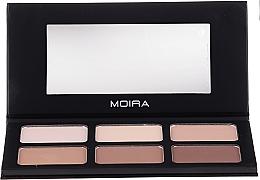 Profumi e cosmetici Palette per contouring - Moira Highlight & Contour Palette