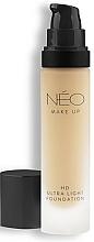Profumi e cosmetici Fondotinta ultraleggero - NEO Make Up HD Ultra Light Foundation