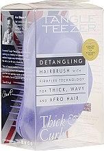Profumi e cosmetici Pettine per capelli folti e ricci, lilla - Tangle Teezer Detangling Thick & Curly Lilac Fondant