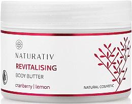 Profumi e cosmetici Burro corpo rigenerante - Naturativ Revitalizing Body Butter
