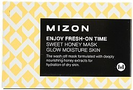 Maschera istantanea idratante e nutriente con estratto di miele - Mizon Enjoy Fresh On-Time Mask Honey Mask — foto N1