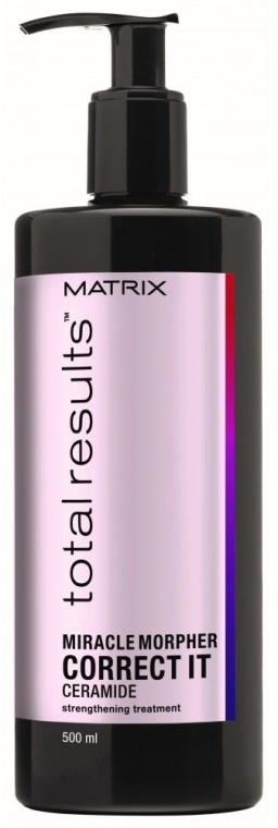 Prodotto per la cura dei capelli danneggiati - Matrix Total Results Miracle Morpher Correct It Ceramide Repairing Treatment