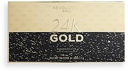 Profumi e cosmetici Palette ombretti - Revolution PRO 24K Gold Eye Shadow Palette