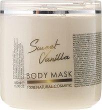 """Profumi e cosmetici Maschera viso e corpo """"Vaniglia dolce"""" - Sezmar Collection Professional Body Mask Sweet Vanilla"""