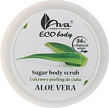 """Profumi e cosmetici Scrub corpo """"Aloe Vera"""" - Ava Laboratorium Eco Body Natural Sugar Scrub Aloe Vera"""