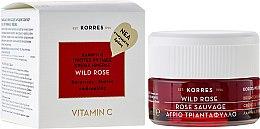 Profumi e cosmetici Crema per pelli normali e miste, da giorno - Korres Wild Rose Brightening & First Wrinkles Day Cream