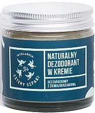 Profumi e cosmetici Deodorante in crema senza aromi - Cztery Szpaki