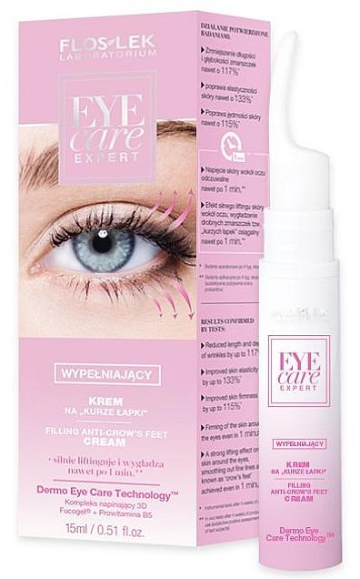 Crema contorno occhi - Floslek Eye Care Expert Filling Anti-Crow's Feet Cream — foto N1