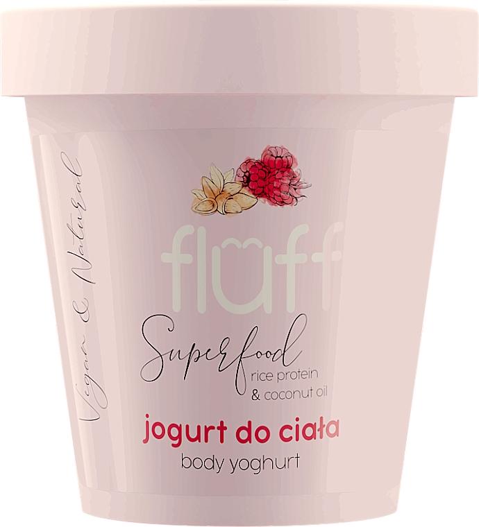 """Yogurt corpo """"Lampone e Mandorle"""" - Fluff Body Yogurt Raspberries and Almonds"""