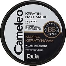 Profumi e cosmetici Maschera ricostruzione capelli alla cheratina - Delia Cameleo Keratin Hair Mask