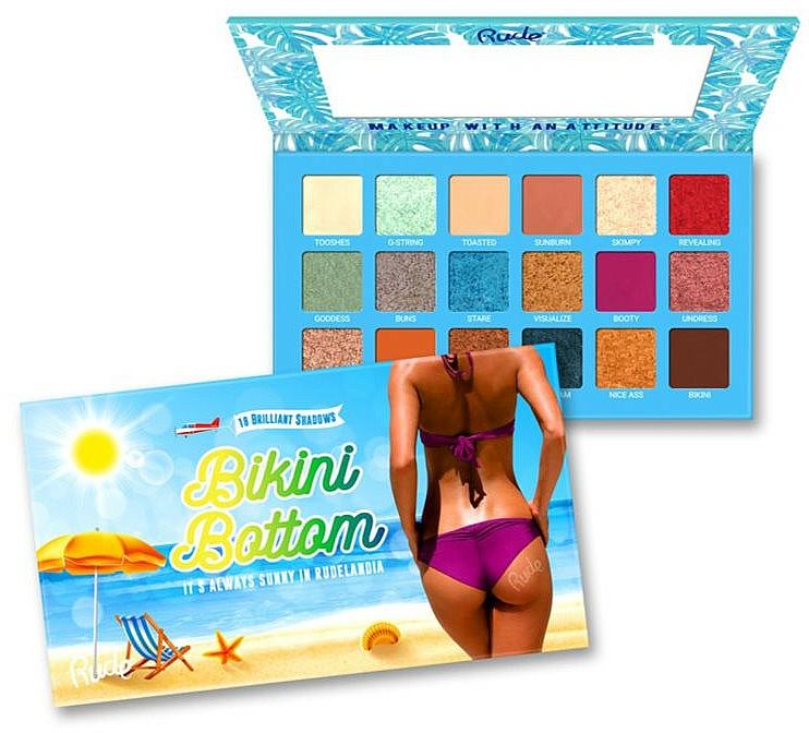 Palette ombretti - Rude Bikini Bottom Eyeshadow Palette — foto N1
