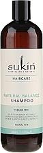 Profumi e cosmetici Shampoo per capelli normali - Sukin Natural Balance Shampoo