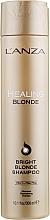 Profumi e cosmetici Shampoo curativo per capelli biondi naturali e decolorati - L'anza Healing Blonde Bright Blonde Shampoo