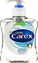 Profumi e cosmetici Sapone liquido antibatterico - Carex Splash Delfini Pingwin Hand Wash