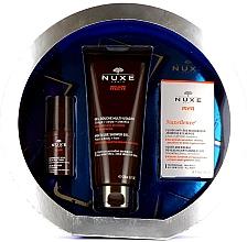 Profumi e cosmetici Set - Nuxe Men Anti-Age (eye/cr/15ml + f/fluid/50ml + sh/gel/200ml)