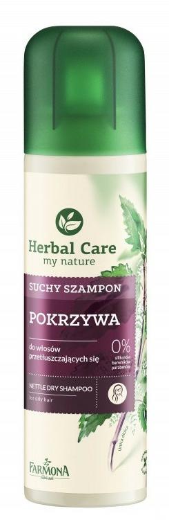 """Shampoo secco per capelli grassi """"Ortica"""" - Farmona Herbal Care Shampoo"""