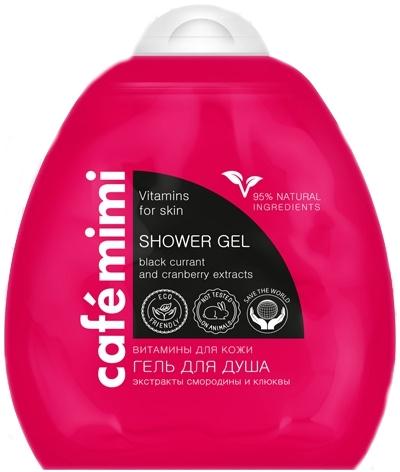 "Gel doccia ""Vitamine per la pelle"" - Cafe Mimi Shower Gel"