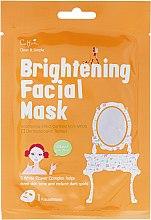 Profumi e cosmetici Maschera rinfrescante in tessuto - Cettua Brightening Facial Mask