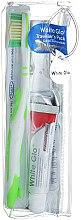 Profumi e cosmetici Set da viaggio per igiene orale - White Glo Travel Pack (t/paste/24g + t/brush/1 + t/pick/8)