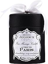 Profumi e cosmetici Candela da massaggio - Petits Joujoux A Trip To Paris Massage Candle