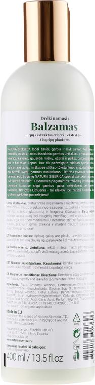 Balsamo capelli idratante - Natura Siberica Loves Lithuania Moisturize Balm — foto N2