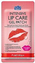 Profumi e cosmetici Patch labbra, in idrogel - Purederm Intensive Lip Care Gel Patch