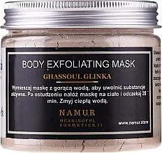 Profumi e cosmetici Maschera corpo all'argilla Ghassoul - Namur Body Exfoliating Ghassoul Clay