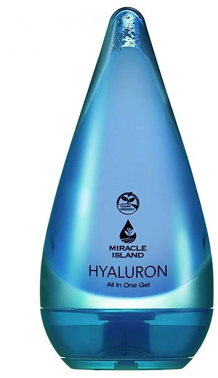 Gel all'acido ialuronico per viso e corpo - Miracle Island
