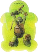 "Profumi e cosmetici Spugna da bagno per bambini ""Ninja Turtles"" Leonardo 5 - Suavipiel Turtles Bath Sponge"