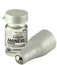 Profumi e cosmetici Trattamento per la caduta dei capelli + rullo - L'Oreal Professionnel Aminexil + Omega-6 10x6ml