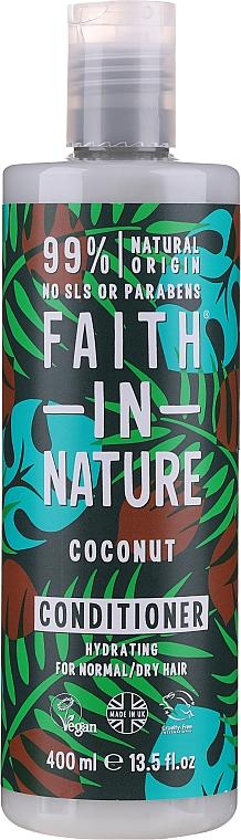 """Balsamo per capelli normali e secchi """"Cocco"""" - Faith In Nature Coconut Conditioner"""