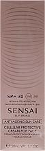 Profumi e cosmetici Crema solare per viso SPF30 - Kanebo Sensai Cellular Protective Cream For Face