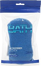 Profumi e cosmetici Spugna da bagno, blu - Suavipiel Microfiber Bath Sponge Extra Soft