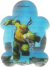 "Profumi e cosmetici Spugna da bagno, per bambini ""Ninja Turtles"" Raphael - Suavipiel Turtles Bath Sponge"