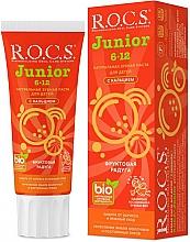 """Profumi e cosmetici Dentifricio """"Arcobaleno di frutta"""" - R.O.C.S. Junior"""