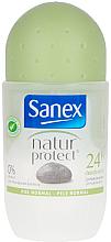 Profumi e cosmetici Deodorante roll-on con allume - Sanex Natur Protect 0% Piedra Alumbre Deo Roll-On