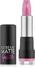 Profumi e cosmetici Rossetto opaco - Flormar Extreme Matte Lipstick