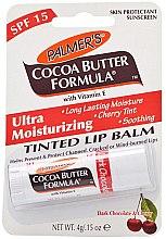 Profumi e cosmetici Balsamo labbra - Palmer's Cocoa Butter Formula Dark Chocolate & Cherry Lip Butter
