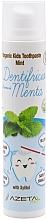 """Profumi e cosmetici Dentifricio per bambini """"Menta"""" - Azeta Bio Organic Kids Toothpaste Mint"""