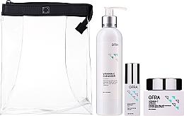Profumi e cosmetici Set - Ofra Normal Skin Solution Trio (f/ser/36ml + f/cr/60ml + clencer/240ml)